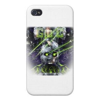 cyborg-camiseta iPhone 4 fundas