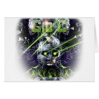 cyborg-camiseta tarjeta