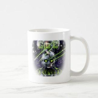 cyborg-camiseta taza