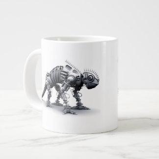 Cyborg Chameleon Giant Coffee Mug