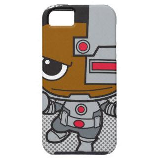 Cyborg de Chibi iPhone 5 Carcasas