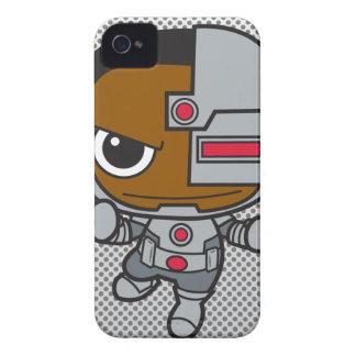 Cyborg de Chibi iPhone 4 Protector