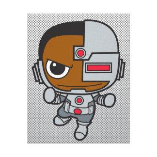 Cyborg de Chibi Lona Envuelta Para Galerías