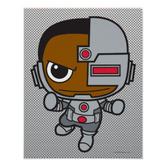 Cyborg de Chibi Póster