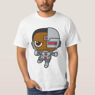 Cyborg de Chibi Remera