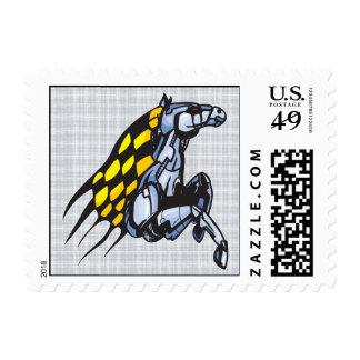 Cyborg Horse Postage