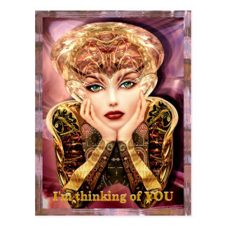 Cyborg Instalator Customizable Postcard