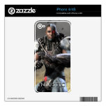 Cyborg iPhone 4S Decal