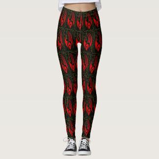 Cyborg Legs Cosplay Pattern Leggings