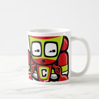 Cyborg Mascot Mugs