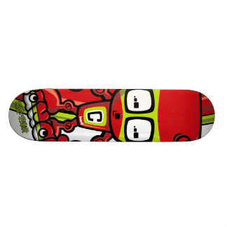 Cyborg Mascot Skate Boards