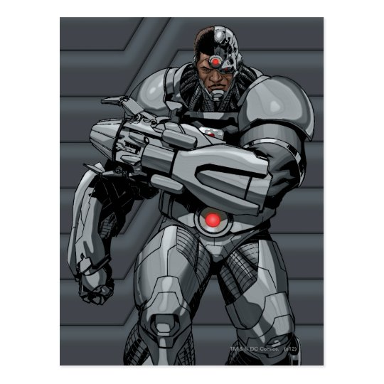 Cyborg Postcard