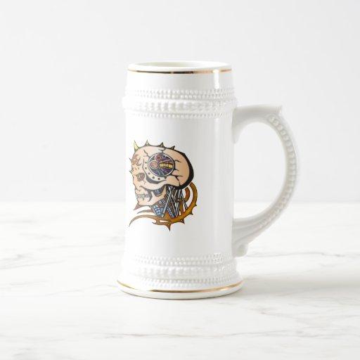 Cyborg Robot Coffee Mug
