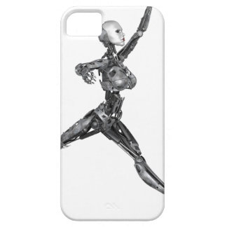 Cyborg Robot in Jete Form iPhone SE/5/5s Case