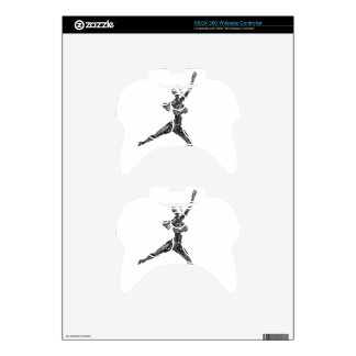 Cyborg Robot in Jete Form Xbox 360 Controller Skins