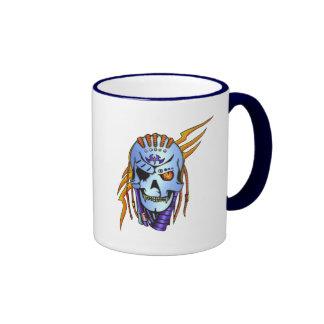 Cyborg Robot Soldier Ringer Coffee Mug