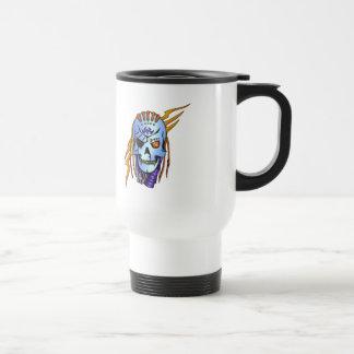 Cyborg Robot Soldier 15 Oz Stainless Steel Travel Mug