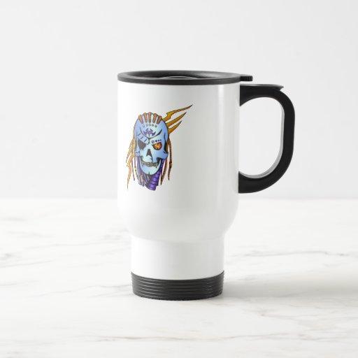 Cyborg Robot Soldier Mugs