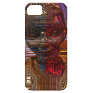 Cyborg Sara Funda Para iPhone SE/5/5s