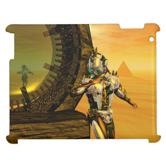 CYBORG TITAN,DESERT HYPERION Science Fiction Scifi Case For The iPad 2 3 4