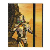 CYBORG TITAN,DESERT HYPERION Science Fiction Scifi iPad Case