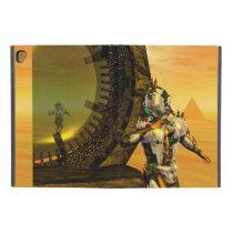 "CYBORG TITAN,DESERT HYPERION Science Fiction Scifi iPad Pro 9.7"" Case"