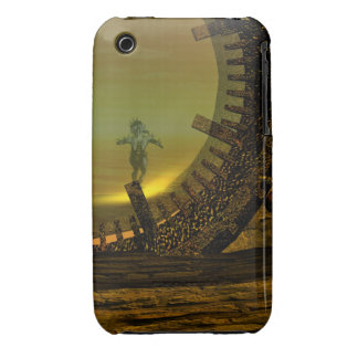 CYBORG TITAN,DESERT HYPERION Science Fiction Scifi iPhone 3 Cover