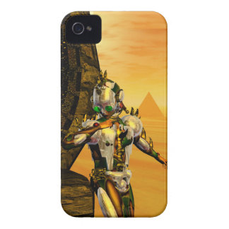 CYBORG TITAN,DESERT HYPERION Science Fiction Scifi iPhone 4 Cover