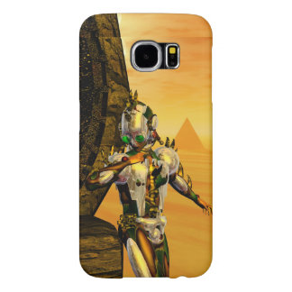 CYBORG TITAN,DESERT HYPERION Science Fiction Scifi Samsung Galaxy S6 Case