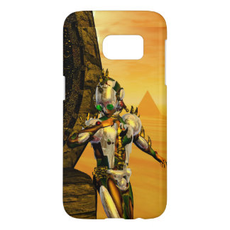 CYBORG TITAN,DESERT HYPERION Science Fiction Scifi Samsung Galaxy S7 Case