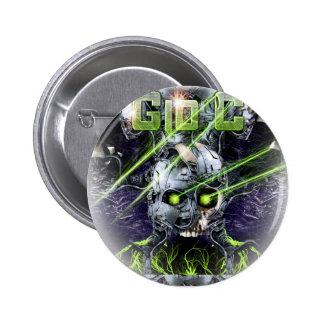 cyborg-tshirt pin