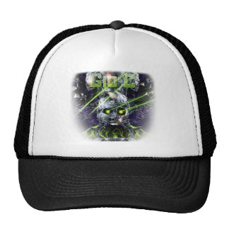 cyborg-tshirt trucker hat