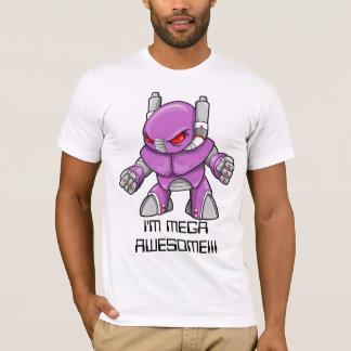 """Cyborg Warrior Ninja """"I'M MEGA AWESOME!!!"""" T-Shirt"""
