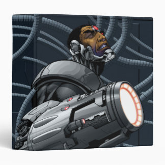 Cyborg & Weapon Bust 3 Ring Binder