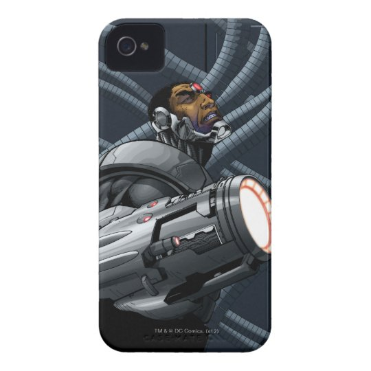 Cyborg & Weapon Bust Case-Mate iPhone 4 Case
