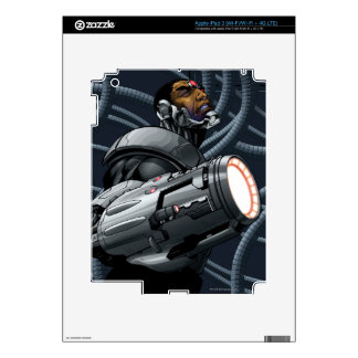 Cyborg & Weapon Bust Decals For iPad 3
