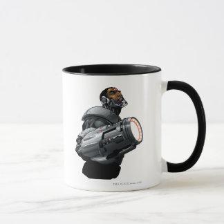 Cyborg & Weapon Bust Mug