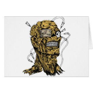 Cyborg Zombie Card