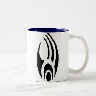 Cyborginization Two-Tone Coffee Mug