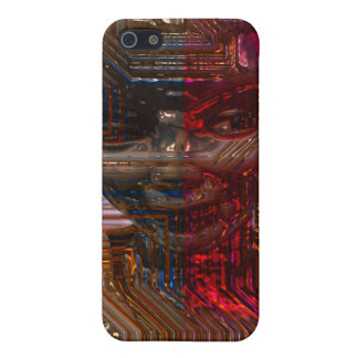 Cyborgs Sara iPhone 5 Carcasa