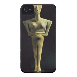Cycladic female figure, from the Island of Amorgo, iPhone 4 Case