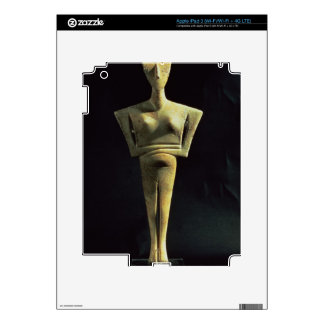 Cycladic female figure, from the Island of Amorgo, Decals For iPad 3