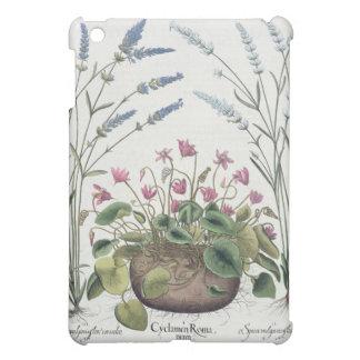 Cyclamen and Lavender: 1.Cyclamen Romanum; 2.Spica iPad Mini Case