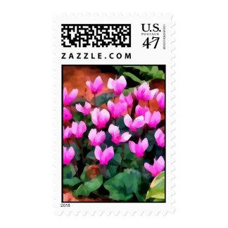 Cyclamen Flowers (2013) Postage