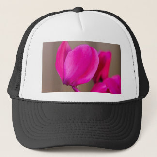 cyclamen in the garden trucker hat