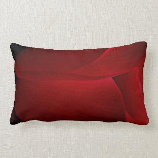 Cyclamen Petals Lumbar Pillow