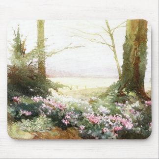 Cyclamens Mouse Pad