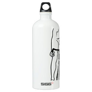 Cycle Aluminum Water Bottle