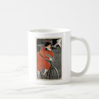 Cycle and Cars Legia by Georges Gaudy 1898 Mug
