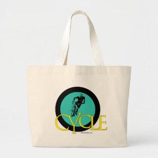 CYCLE JUMBO TOTE BAG